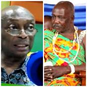 """""""I Will Not Dignifyignify The Buffoonery of a Traditional Ruler"""". Kweku Baako to Kpone Chief."""
