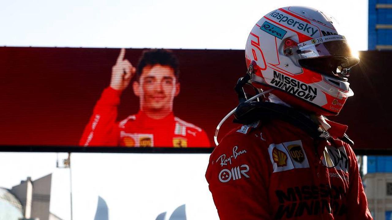 Formel 1: Ferrari-Pilot Leclerc holt Pole Position in Baku