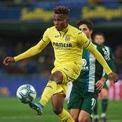 Idah's Goal, Chukwueze's Sparkle, Osayi-Samuel's Victory Highlight Sunday's Games