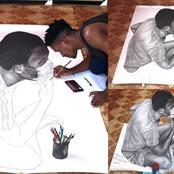The Mind Is The Most Powerful Tool. See What This Guy Did With Pencil Art That Got People Talking