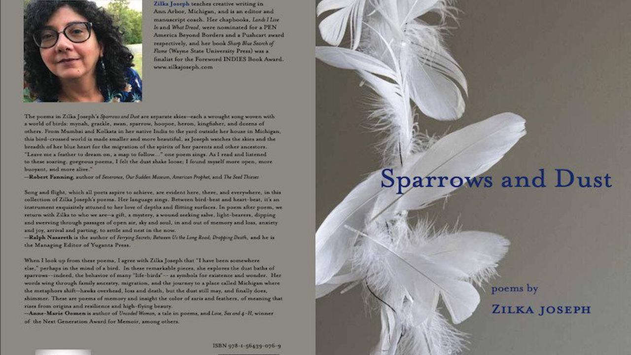 Zilka Joseph's 'Sparrows and Dust' is a Heavy Read, But She Makes it Fly - Best Indian American Magazine