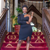 Former Tahidi High actress Jackie looking glamorous in these latest photos.