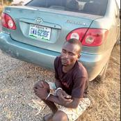 Identity of A Young Man Who Deals on Snatching and Smuggling Vehicles In Adamawa State