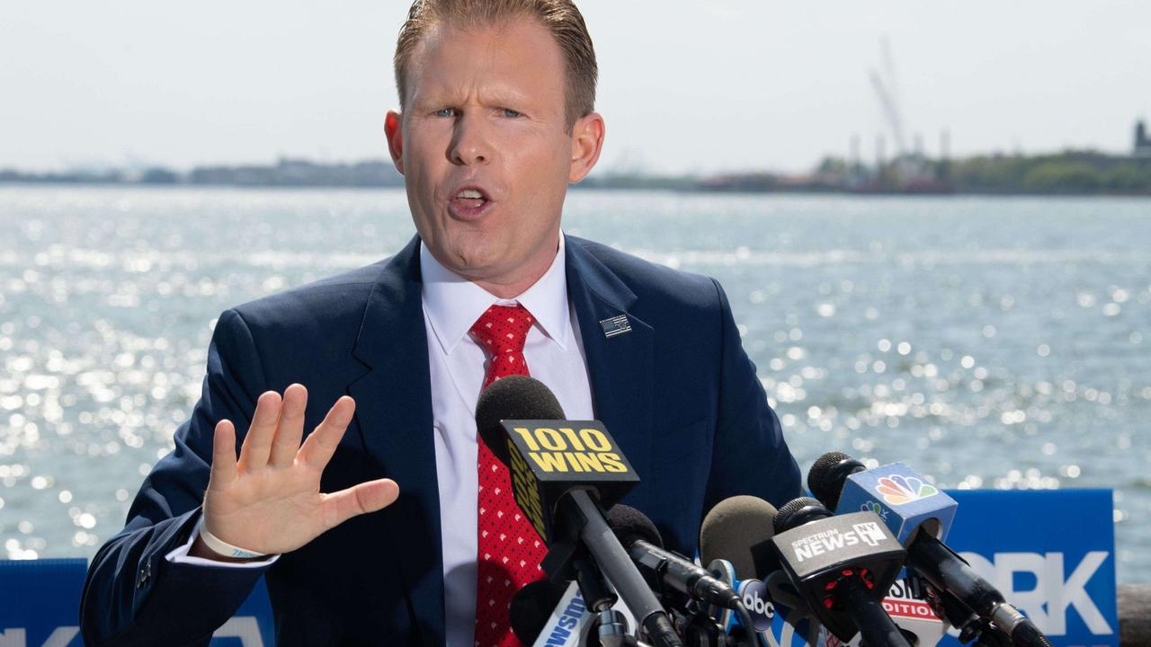 Andrew Giuliani launches GOP bid for N.Y. governor with vow to fight crime — as his dad faces heat from feds