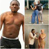 Recent Photos of Nigerian Comedian Bovi together with Nancy Isime