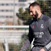 Real Madrid: Benzema a major doubt for Inter Milan trip