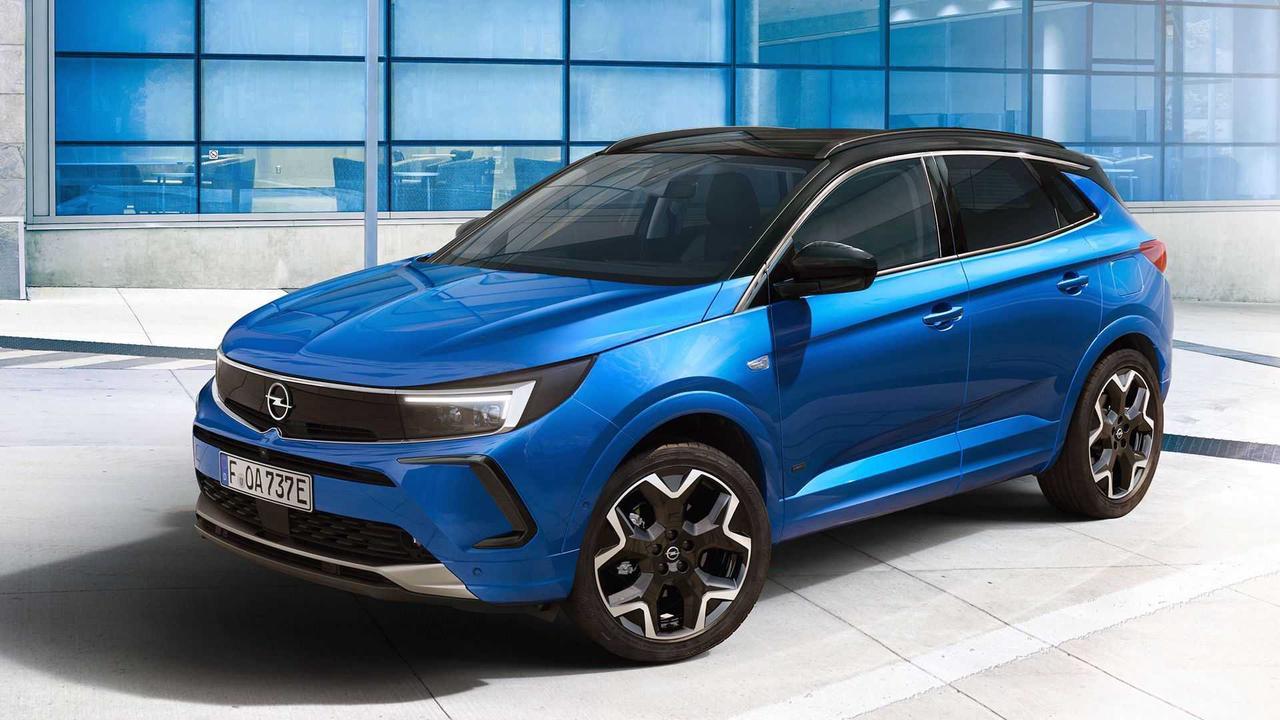 Opel Grandland (2021): Jetzt auch mit Vizor