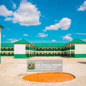 See photos of the public school in Rigasa constructed by Kaduna state governor