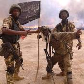 Photos Of Nigerian Army Rejoicing After Taking Over Boko Haram Stronghold In Sambisa Forest