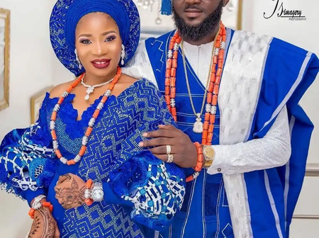 Take A Look At Cute Pictures Of Yoruba And Igbo Traditional Wedding Attires