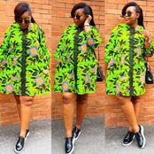 Short / Knee Length Ankara Designs Every Lady Should Try Out