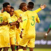 Bafana squad to face the black stars of Ghana.