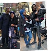 From A Bus Conductor And A Plantain Seller To Living In America, See Photos Of Tunde & His Family.