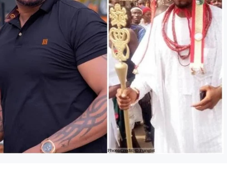 Meet A Nollywood Actor Who Is A King In Igbo Land (Photos)
