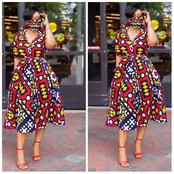 Latest Ankara Styles For Traditional Wedding