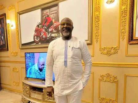 Senator Dino Malaye Shows Off Multi-million Mansion In Abuja, Says 'No Be Me, Na God'