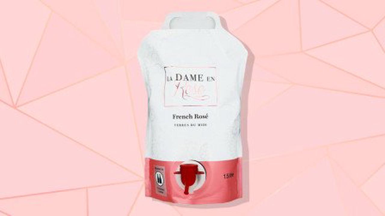 M&S launches portable bag of rosé wine that is 'like an adult Capri Sun'
