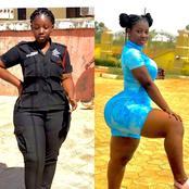 Beautiful Photos Of This Ghanian Police Officer, Ama Serwaa