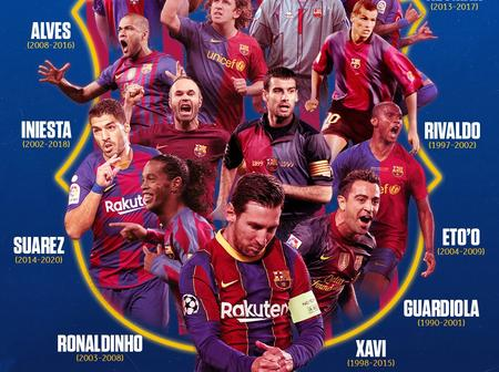 Barcelona with double celebration after a massive 4 - 0 win over Osasuna