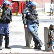 Remember the Little Boy who Always Follows the Police? See What They Did On His Birthday