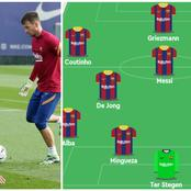 Team News: Messi in, Braithwaite benched Araujo returns and Barca expected lineup against Osasuna