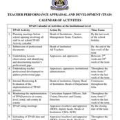 Teachers :Why Lesson Observation Should Be Done and Filled In TPAD Between 2nd and 10th Week Of Term