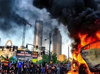 George Floyd Riots Reign Fire Over Minnesota