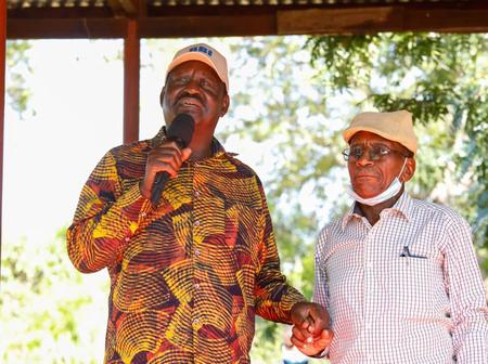 Meet The 'Afande' And A Close Ally To Raila Odinga During His Time As Inmate In The Prison