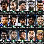 With These Young Talented Players, The Future Looks Bright For Nigeria.