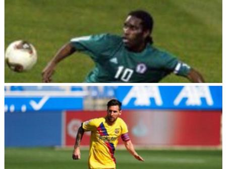 JJ Okocha Is Better Than Messi? See Reactions From Twitter Users On This Debate.