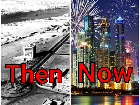 Checkout These 15+ Pictures That Show How Dubai Has Changed Over The Years