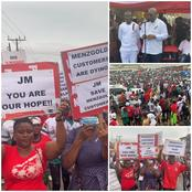 Tarkwa Left This Simple Message For Mahama, Find Out Why