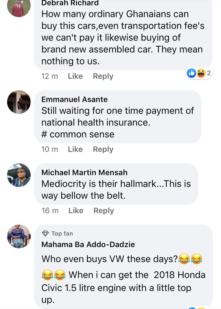 7c8cdb3b54edef95cb5968ec5a273105?quality=uhq&resize=720 - Ghanaians Blast Nana Addo After Announcing That The 'Affordable' VW Vehicles Are Assembled In Ghana