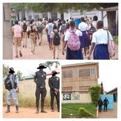 Daoukro: les élèves reprennent les cours sous haute surveillance des forces de l'ordre