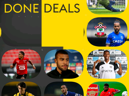 Deadline Done Deals: Todays Updates On Big Clubs Like; PSG, Manchester United, Arsenal and Everton.