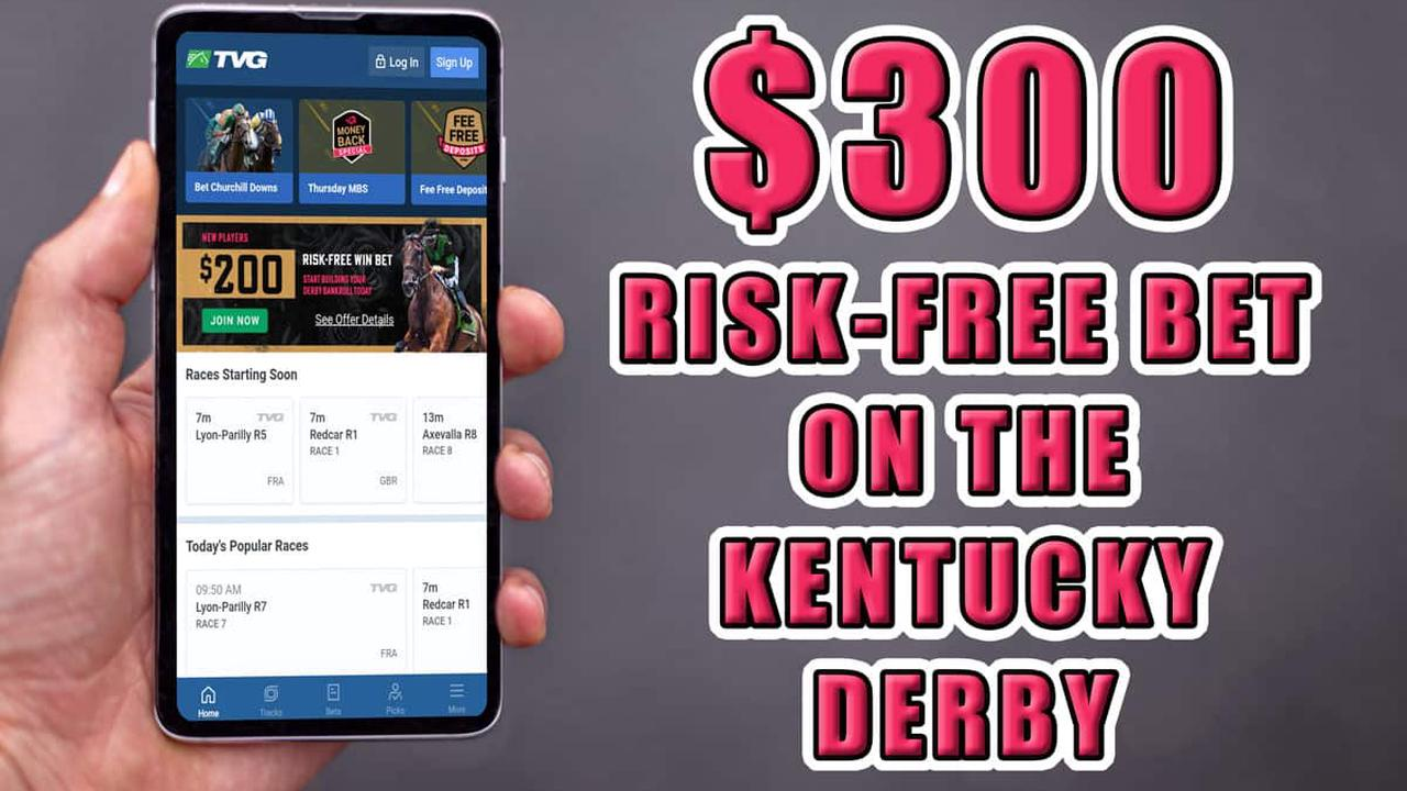Get a $25 Risk Free Bet Kentucky Derby Promo With TVG   Opera News