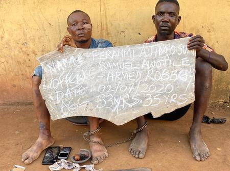 Two Men Who Specialise In Snatching Motorcycles Nabbed By Police
