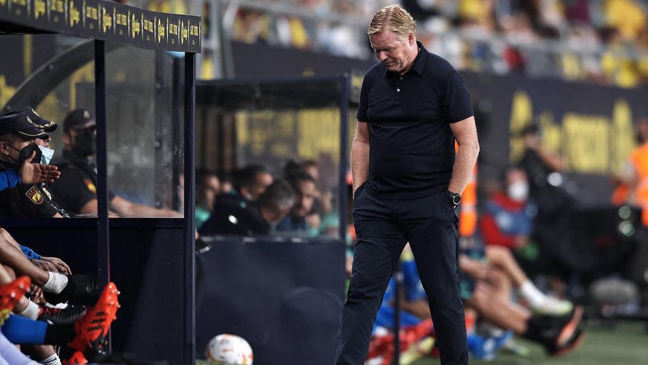 Nächste Blamage für Koeman und Barca - Piqué redet Klartext