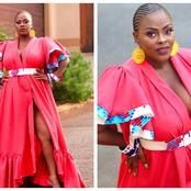 MaNgcobo from Uzalo left her fans in a frenzy with her recent beautiful pictures.