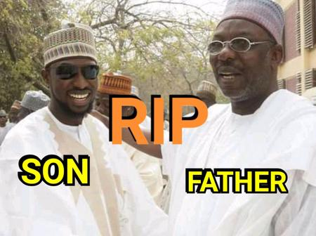 Nigerian Politician And His Son Died Yesterday, See What Caused Their Death