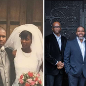 The Couple That Got Remarried 10 Years After Divorce, See The Photos Of Their First Wedding In 1996