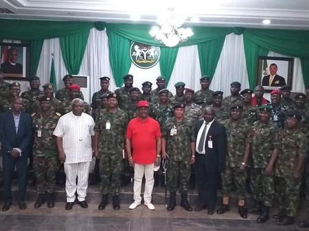 Here's Why Governor Obiano Had Another Session With Armed Forces.