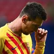 Champions League: Messi left out of the Barça said ahead of their game tomorrow night.