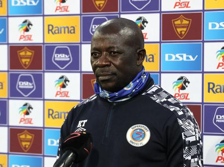 Kaitano Tembo: Poor Results Due To Squad Depth At SuperSport United Read More.