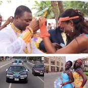 Wedding Scenes Of Kwame A-Plus's Friend, DJ Advisor Who Died Just Recently Causes Massive Stir
