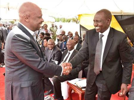Ruto Eviscerates Gideon Moi By Giving Him A Million Shillings