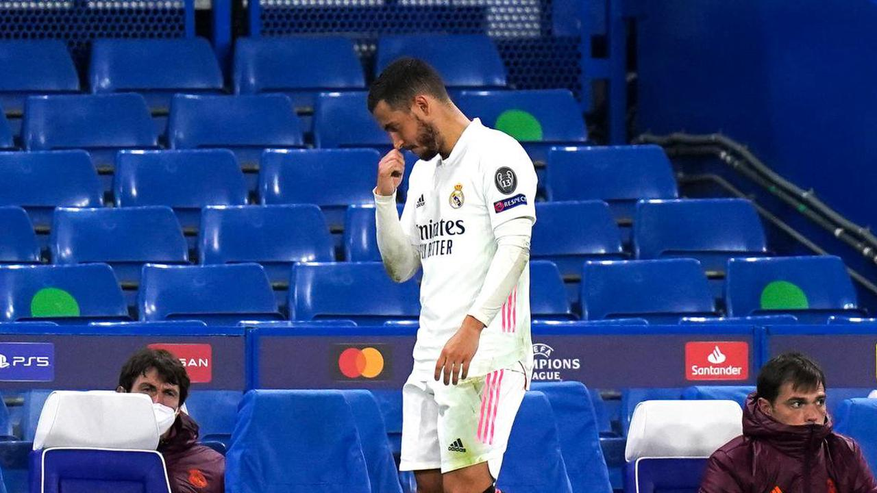 Chelsea - Real Madrid : le rire d'Eden Hazard fait scandale, un départ déjà prévu pour cet été ?