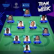 Two Chelsea players make champions league team of the week