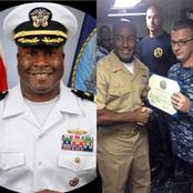 Meet Kelechi Ndukwe, The First Nigerian To Take Command Of A US Navy Guided Missile Destroyer