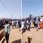 Législatives 2021 : C'est chaud à Madinani ce lundi, des militants du RHDP dans la rue